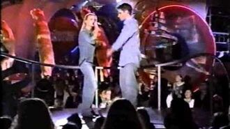 98 Degrees at 2000 Kid Choice Awards Jessica Simpson & Nick Lachey Where You Are