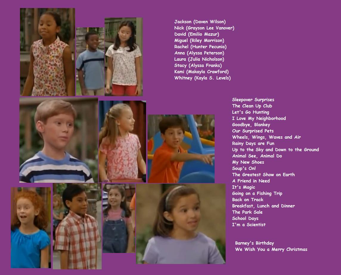 The Barney & Friends Gang: Meet The Cast | Kids World\'s Adventures ...