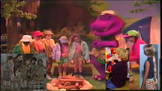 Kids World S Adventures Of Barney S Campfire Sing Along