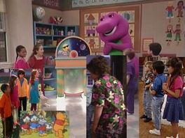 Kids World's Adventures of Barney's Good Day, Good Night