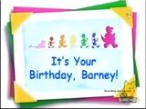 """It's Your Birthday, Barney!"""