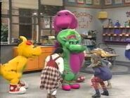 10. Barney sing along