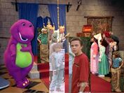 Kids World In Barney's Magical Musical Adventure