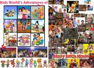 The Poster for Kids World's Adventures of The Brady Bunch Movie