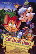 Pooh's Adventures of Cats Don't Dance Poster copy