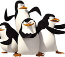 Skipper, Kolwalski, Rico, and Private
