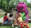 Kids World's Adventures of Barney Read with Me, Dance with Me