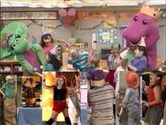Kids World's Adventures of Happy Birthday, Barney