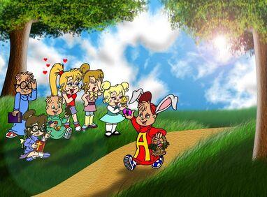 A Chipmunk Easter 2