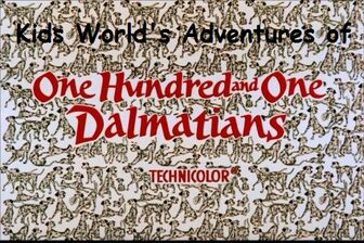 Kids World's Adventures of 101 Dalmatians
