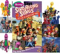 Barney & The ZOOMers' Says Let's Go To Disneyland Paris