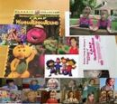 Kids World's Adventures of Barney's Camp WannaRunnaRound