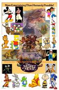 Chipmunks Tunes Babies & All-Stars' Adventures of The Mupper Movie