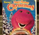 Kids World's Adventures of Barney's Night Before Christmas