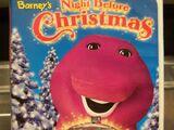 Kids World's Adventures of Barney's Night Before Christmas