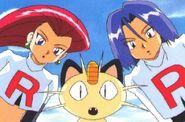 Team Rocket (Jessie, Mewoth and James) of Kids World's worst enemies