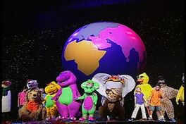Kids World's Adventures of Barney's Colorful World