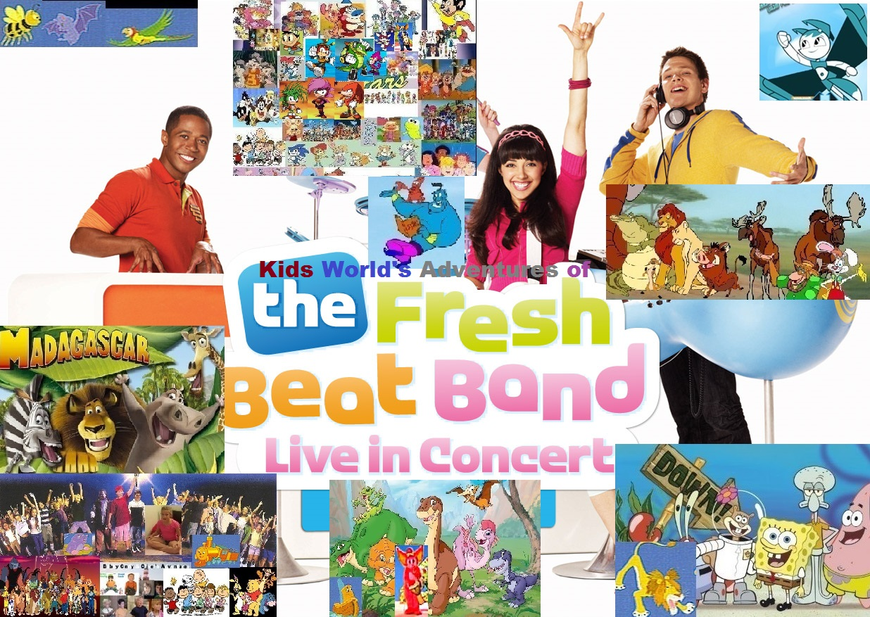 Kids World S Adventures Of The Fresh Beat Band Live In