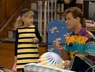 """Stephanie as a Honeybee in """"Joey's Place"""" (1987)"""