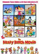 Chipmunks Tunes Babies & All-Stars' Adventures of The Brady Bunch Movie