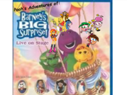 Pooh's Adventures of Barney's Big Surprise Logo
