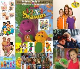 Bobby Cindy & Oliver's Adventures of Barney's 1-2-3-4 Seasons