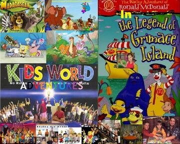 Kids World in the Wacky Adventures of Ronald McDonald- The Legend of Grimace Island