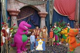 Kids World's Adventures of Barney The Land Of Make Believe