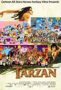 Alvin, Winnie the Pooh & The Gang meets Tarzan