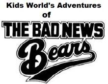 Kids World's Adventures of The Bad News Bears logo