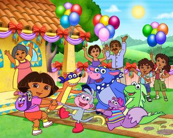 The Dora The Explorer Gang