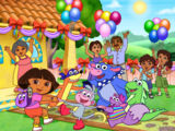 The Dora The Explorer Gang