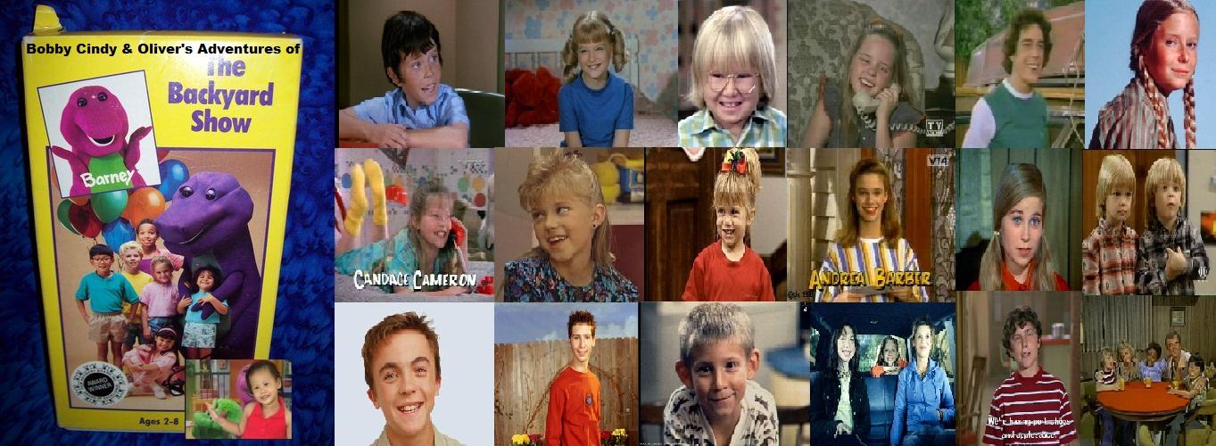 Kids World's Adventures Of Barney & The Backyard Gang ...