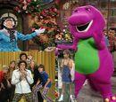 Kids World's Adventures of Barney's Rhyme Time Rhythm