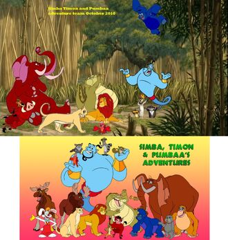 Kids World's Adventures Team (from Simba, Timon, and Pumbaa's Adventure Team of Series - The Jungle Adventure Crew Team