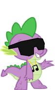 Spike as a DJ