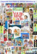 Chipmunks Tunes Babies & All-Stars' Adventures In Yours, Mine & Ours