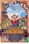 Littlefoot's Adventures of An American Tail; Fievel Goes West Poster