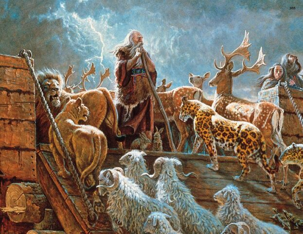 File:Noah and the ark with animals-2-.jpg