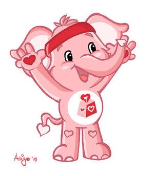 Lotsa Heart Elephant by posole