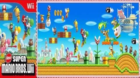 Let's Listen Super Mario Bros. Wii - Desert Stage Theme (Extended)