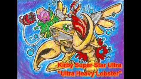 Kirby Super Star Ultra Remix - Ultra Heavy Lobster Heavy Lobster Battle