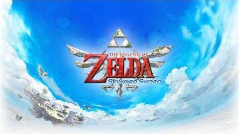 Legend of Zelda Skyward Sword - Isle of Songs