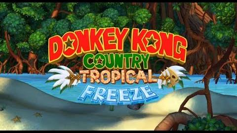 Donkey Kong Country Tropical Freeze - Temple II feat. DK Island Swing Extended (10 Hours)