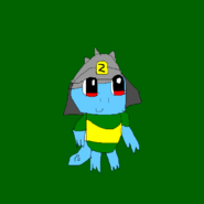 Numbuh 0.4 squirtle
