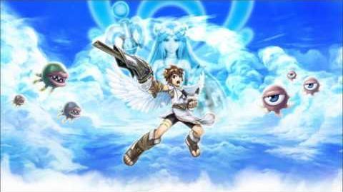 Kid Icarus Uprising Music - Chapter 6 (Dark Pit) Flight Theme