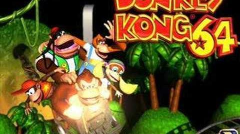 Donkey Kong 64 - Demon Resident Mine Cart