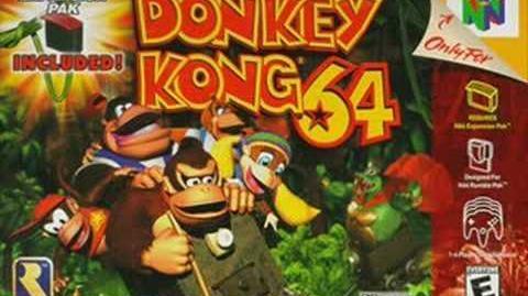 Donkey Kong 64 Music - Crystal Caves