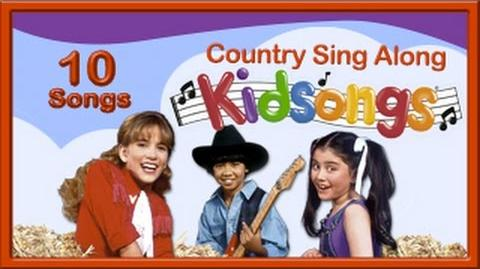 Country Sing Along Country Songs for Kids Childrens Farm Songs Buffalo Gals Kidsongs PBS Kids