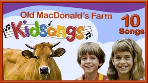 Kidsongs A Day at Old MacDonald's Farm children's songs top nursery rhymes